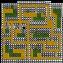 Cave of Mysidia's Second Floor (NES).