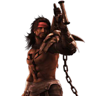 CG render of Jecht in <i>Dissidia</i>.