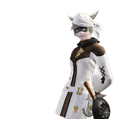 Culinarian render from the <i>Final Fantasy XIV</i> legacy.