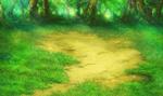 FFIV PSP Forest Battle