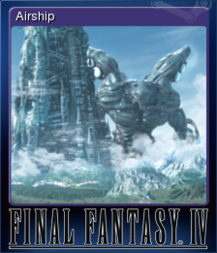 FFIV Steam Card Airship