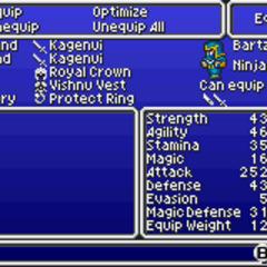 <i>[inal Fantasy V</i> (GBA).