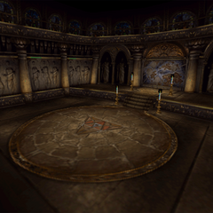 Battle background in Ipsen's Castle, when fighting Taharka.