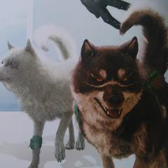 Рендеры Умбры и Прины в <i>The Art and Design of FINAL FANTASY XV</i>.