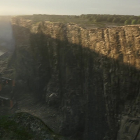 Canyon in <i>Kingsglaive: Final Fantasy XV</i>.