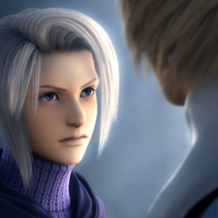 Close-up of Luneth from the opening FMV (PC).