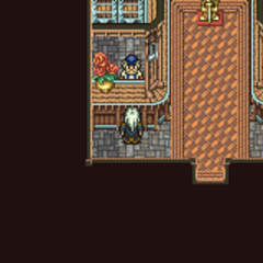 Kohlingen's weapon shop (GBA).