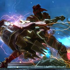 Nero com seu Mjolnir atualizado