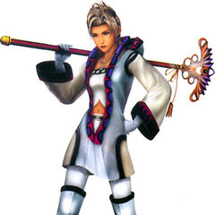 Paine as a White Mage.