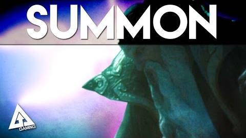Final Fantasy 15 Summon Gameplay - Ramuh