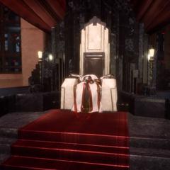 Одеяние Йедоласа, оставшееся после его превращения.