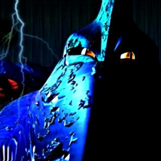 Лицо Сапфирового оружия в Северном Кратере в FMV ролике.