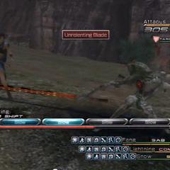 Unrelenting Blade.