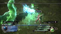 Cure spell in FFXIII-2