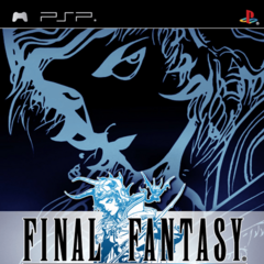 Capa de <i>Final Fantasy</i> norte-americana para PlayStation; 2007.