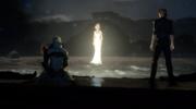 Lunafreyas spirit in FFXV Episode Ignis
