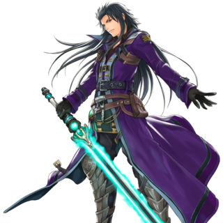 Lasswell and Purple Lightning (Star Ocean).
