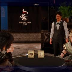 Square Enix Cafe.
