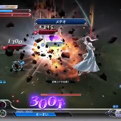 Rinoa using Meteor in <i><a href=