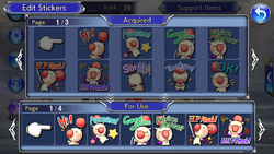 DFFOO Stickers Menu
