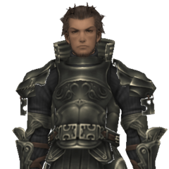 Vossler's disguise in-game model.