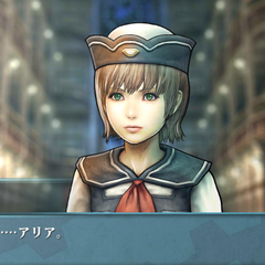 Screenshot of Aria in <i>Agito</i>.