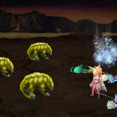 Bubble <i>Final Fantasy IV</i> (DS).