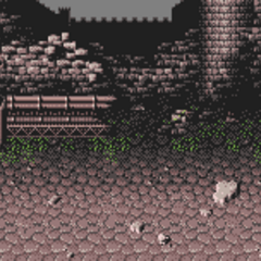 Courtyard Battle background (GBA).