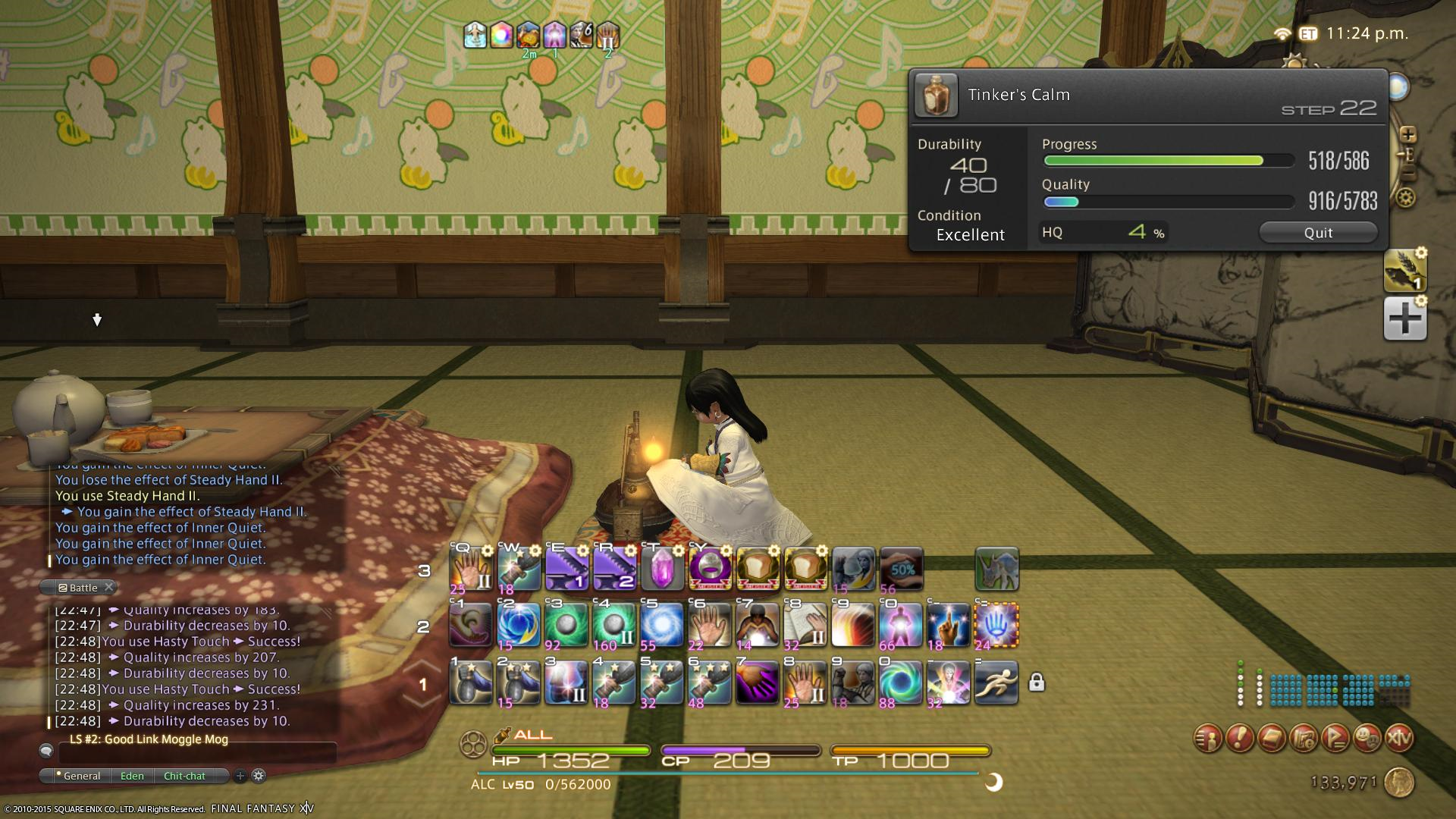 FF14 HOW TO USE BYREGOTS BLESSING
