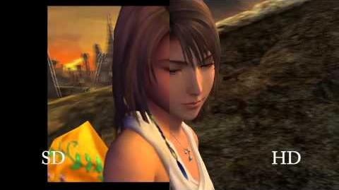 FINAL FANTASY X X-2 HD Remaster -- Vidéo comparative SD HD