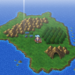 Adamant Isle Grotto on the world map in <i><a href=