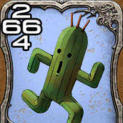 Cactuar from <i>Crisis Core -Final Fantasy VII-</i>.