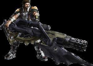 Amodar XIII-2 Battle Render