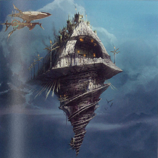 Dracobaltian airship (unused).