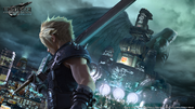 FFVII Remake Key Visual