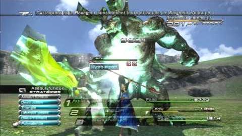 Final Fantasy XIII Combat contre Béhémoth Empereur