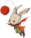 Moogle art from Final Fantasy Tactics Advance