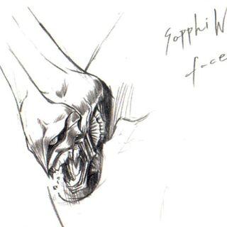 Концепт-арт, выполненный Тэцуей Номурой.