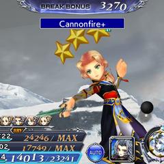 Cannonfire.