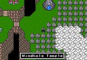 FFMQ Windhole Temple