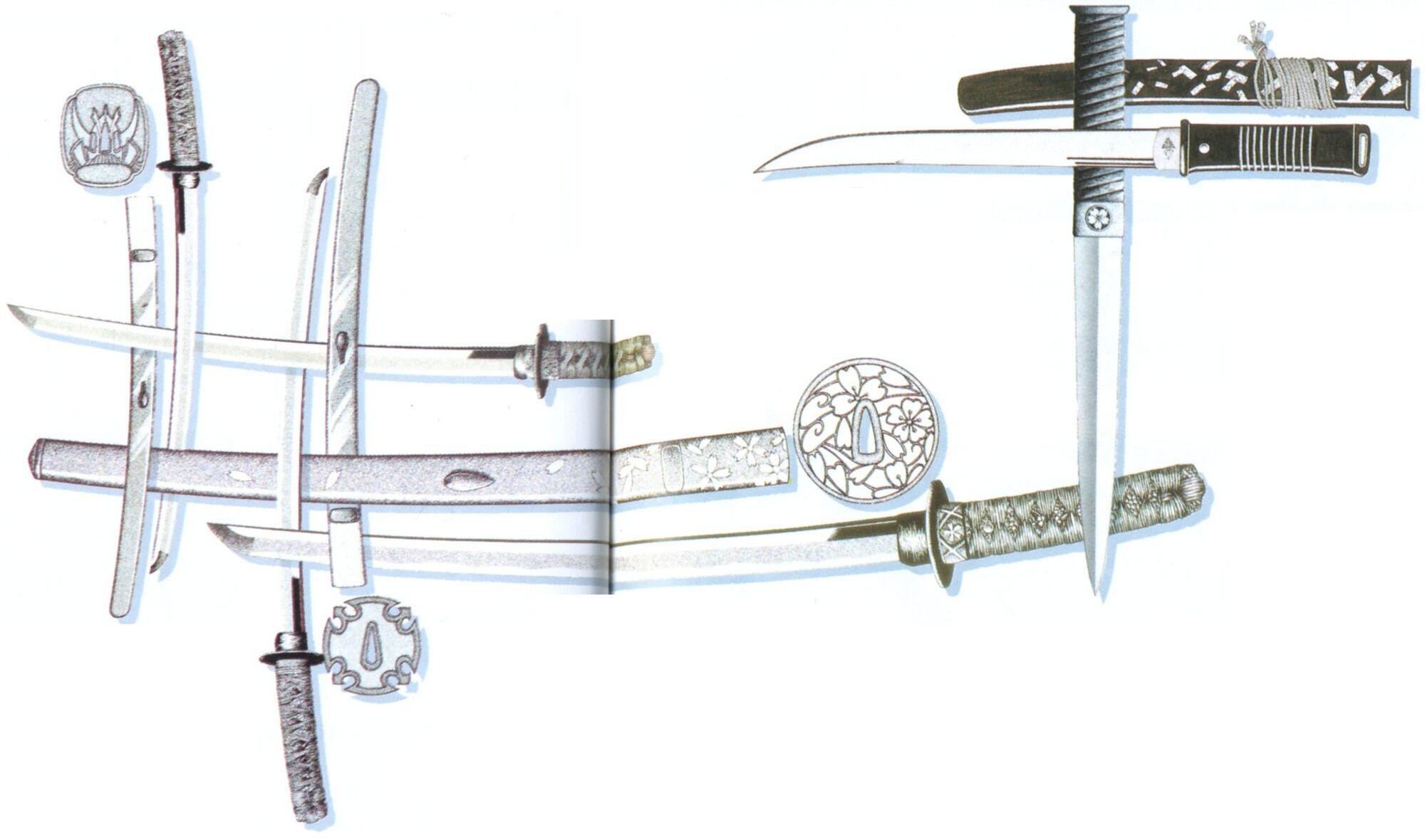 Twin Ninja Swords with Tactical Scabbards | BUDK.com ...  |Types Of Ninja Swords