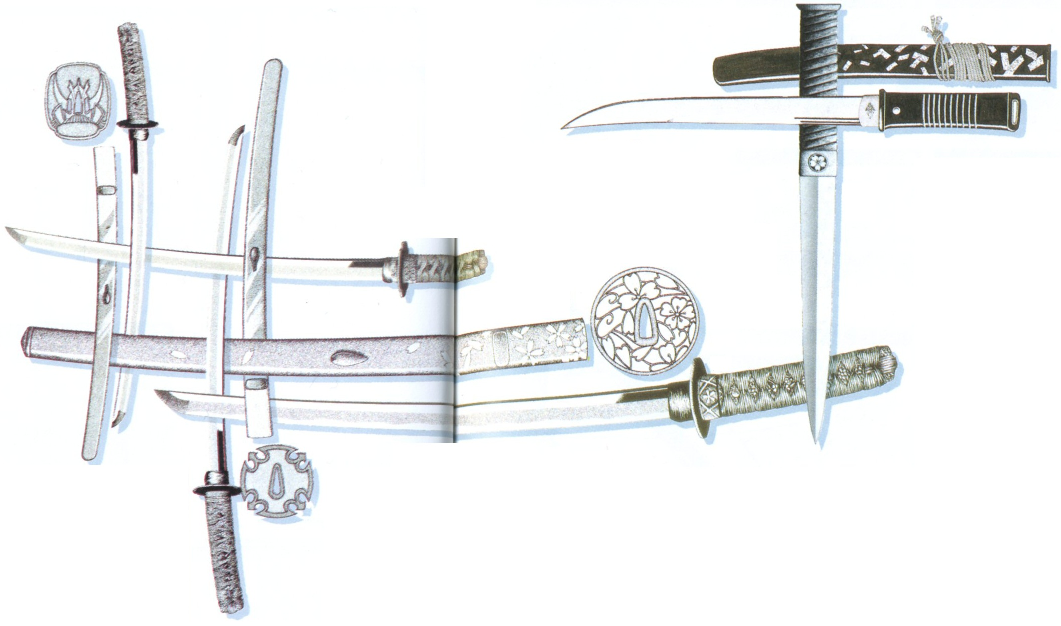 Types of bladed weapons: photo and names 55