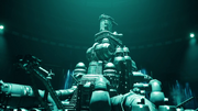 Shinra HQ model from Final Fantasy VII Remake