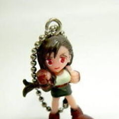 Tifa key chain available from Japanese crane catcher games in 1997.