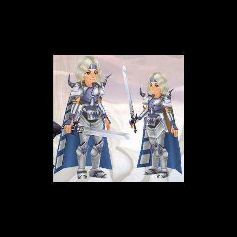 Paladin Cecil's Virtual World avatar.