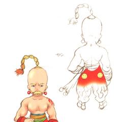 Akira Oguro concept art of Yang (DS).