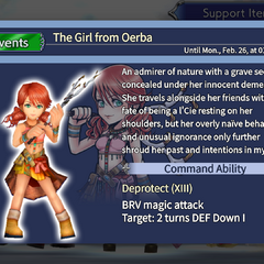 Character info screen from the events.