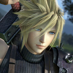 Cloud Strife (Modified-PS4 engine).