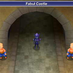Fabul Castle's entrance (DS/iOS).