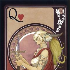 Queen card (unused).